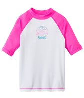 Roxy Girl's Aloha Short Sleeve Rash Guard