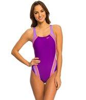 Speedo Quantum Splice PowerFLEX One Piece Swimsuit