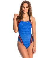 Speedo Quantum Splice Endurance Lite One Piece Swimsuit