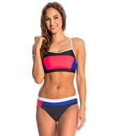 Speedo Colorblock Two Piece Set