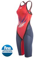 Arena USA Swimming Kazan World Championship Edition 15 Carbon Flex Full Body Short Leg Open Back Tech Suit