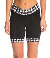 Shebeest Women's Triple S Ultimo Hounds Tooth Cycling Shorts