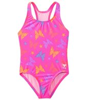 TYR Girls' Flutter Maxfit One Piece Swimsuit (2T-16yrs)