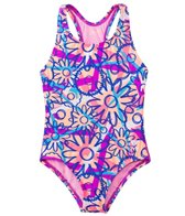 TYR Girls' Ditzy Daisy Maxfit One Piece Swimsuit (4yrs-16yrs)