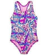 TYR Girls' Ditzy Daisy Maxfit One Piece Swimsuit (4yrs-16yrs)