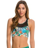 MINKPINK Move Women's Planet Shaker Mesh Crop Sports Bra