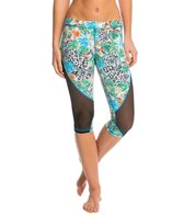 MINKPINK Move Women's Planet Shaker Mesh Capri