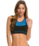 MINKPINK Women's Don't Mesh with Me Crop Sports Bra