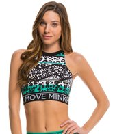 MINKPINK Move Women's Fierce Crop Sports Bra
