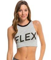MINKPINK Women's Flex Crop Sports Bra