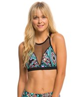 MINKPINK Move Women's Move It Mesh Crop Sports Bra Top