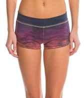 Hard Tail Racer Bootie Yoga Shorts