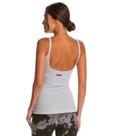 Hard Tail Scoop Back Yoga Tank Top with Bra