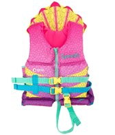 Speedo Girls' USCG Approved Supersaurus Floatie Vest (30-50lbs)