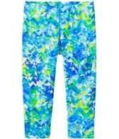 Speedo Girls' Printed Capri Swim Leggings (7yrs-16yrs)