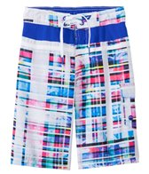 Speedo Boys' Print Horizontal Splice E-Board Short (8yrs-20yrs)