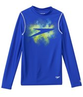 Speedo Boys' Galaxy Boom Long Sleeve Swim Tee (8yrs-20yrs)