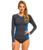 Oakley Women's Double Spaced L/S Rash Guard