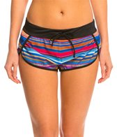 Oakley Women's Pacific Stripe Boyshort Bottom