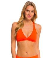 Oakley Women's Core Solids Racerback Sports Bra Bikini Top