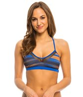 Oakley Women's Wavelength Crossback Sports Bra Bikini Top