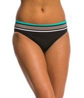 Skye Swimwear Spectra Mid Waist Foldover Bikini Bottom