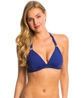 Skye Swimwear So Soft Solid Rachel Halter Bikini Top