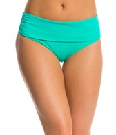 Skye Swimwear So Soft Solid Hi Profile Foldover Bikini Bottom