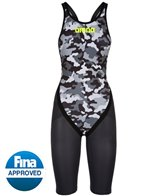 Arena Carbon Flex Limited Edition Predator Camo Full Body Short Leg Open Back SL