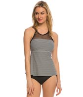 Beach House Cliff Walk Exhilarate High Neck Racerback Tankini Top