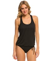 Beach House Cliff Walk Lila Racerback 2 in 1 Tankini Top