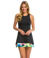 Anne Cole Locker Women's Snow Cone Neoprene Dress