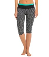 Anne Cole Women's Heather Colorblock Elastic Surf Pant