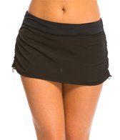 Anne Cole Women's Core Solid Adjustable Swim Skirt
