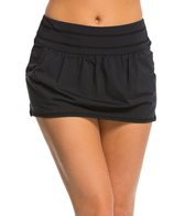 Anne Cole Women's Core Solid Swim Skirt