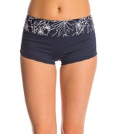 Anne Cole Women's Spinning Floral Splice Print Boyshort Bottom