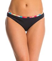 Anne Cole Women's Running Stripe Hipster Bikini Bottom