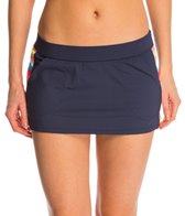 Anne Cole Women's Running Stripe Pocket Swim Skirt