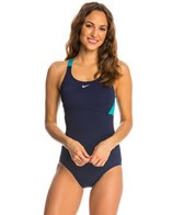 Nike Color Surge Racerback Tank One Piece Swimsuit