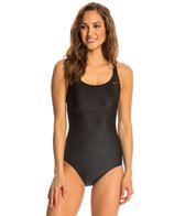 Nike Solids Epic Trainer Tank One Piece Swimsuit