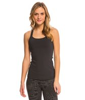 Lucy Women's Solid Crossback Tank Top