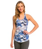 Lucy Women's Print Workout Racerback Tank Top