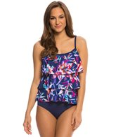 Maxine Lily Pop Tiered Tankini Top