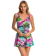 Maxine Tropic Dreams Empire Swimdress