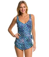 Maxine Serengeti Wide Strap Sarong One Piece Swimsuit