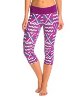 Roxy Women's Own It Running Capri Legging