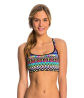 Funkita Women's Razzle Dazzle Sports Swim Top