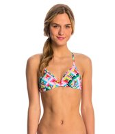 Funkita Women's Pastel Party Tri Swim Top