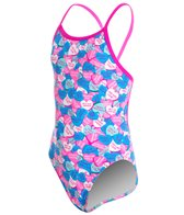 Funkita Girls' Sweet Summer Single Strap One Piece Swimsuit