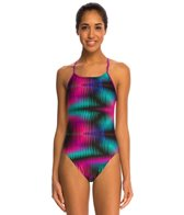 Nike Shutter Cut Out Tank One Piece Swimsuit